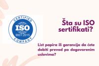 Šta je sertifikat ISO 9001 i zašto je važan za rad prevodilačke agencije?