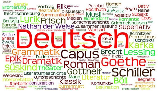 Nemački jezik reči na nemačkom jeziku